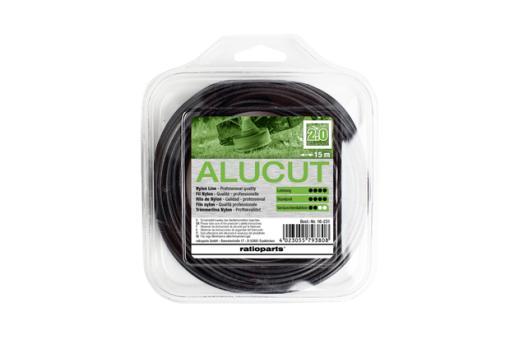 Nylonfaden 4-Kant Alucut 2,0 mm 15 m