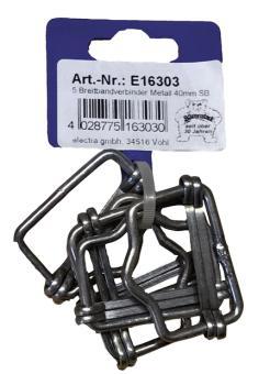 Metallverbinder für Breitbänder