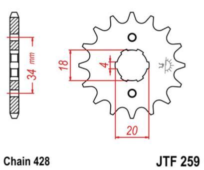 AFAM Kettenritzel 20200-16