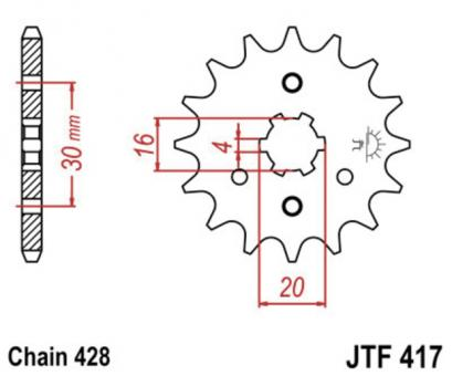 AFAM Kettenritzel 24200-15