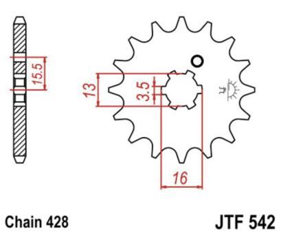 JT Ritzel JTF542