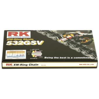 RK Antriebskette 532GSV schwarz 142 Glieder