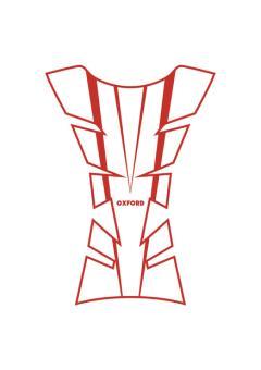 OXFORD Arrow Tankpad transparent rot