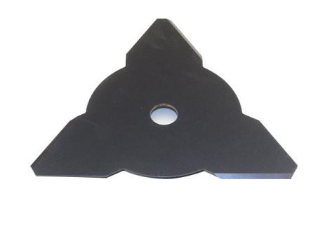 3-Zahnmesser 265 x 25,4 x 2,5 mm