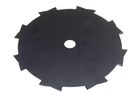 8-Zahnmesser 230 x 20,0 x 1,4 mm