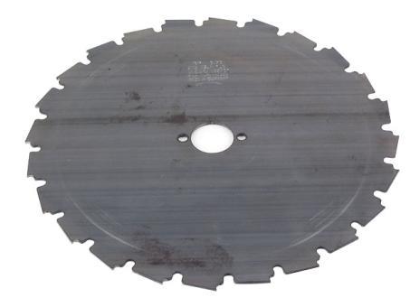 22-Zahnmesser 225 x 25,4 x 1,8 mm