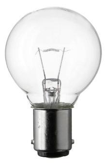 Glühlampe 12V 35W Ba15d klar