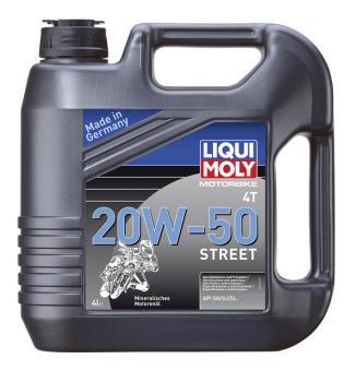 LIQUI MOLY Motorbike Street 20W-50 4.0 L