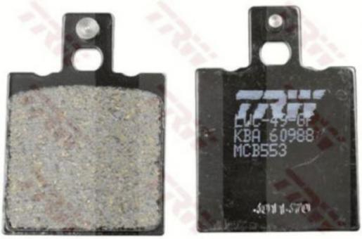 TRW Bremsbelag ALLROUND - ORGANIC NRS MCB553