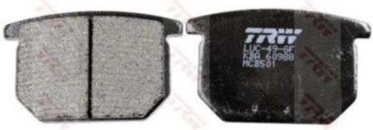 TRW Bremsbelag ALLROUND - ORGANIC NRS MCB501