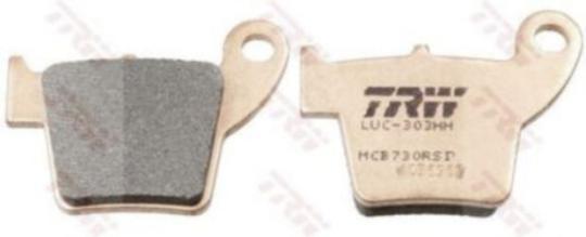 TRW Bremsbelag RSI – SINTER OFFROAD MCB730RSI