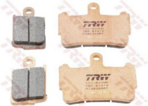 TRW Bremsbelag SRT – SINTER ROAD & TRACK NRS MCB828SRT
