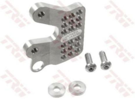 TRW Adapter Fußrastenanlage silber rechts MCF797-R