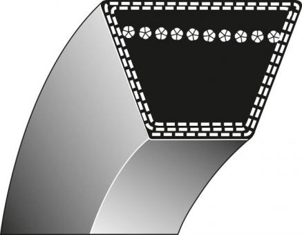 Keilriemen Typ 1 - 15.80 x 3940.00 Li
