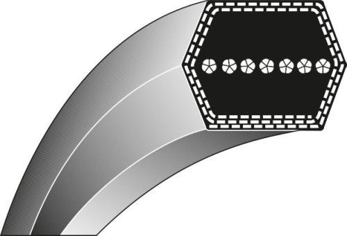 Doppelkeilriemen 12.70 x 1778.00 Lb