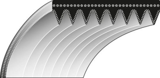 Keilriemen Typ 6 - 570.0 Lb Profil - PJ